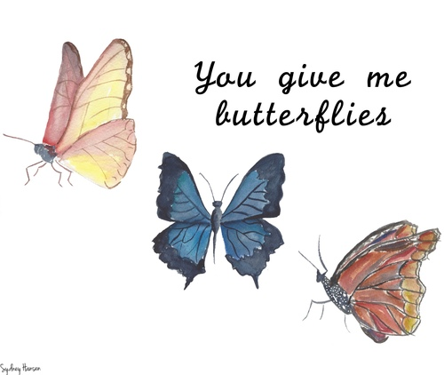 give me butterflies