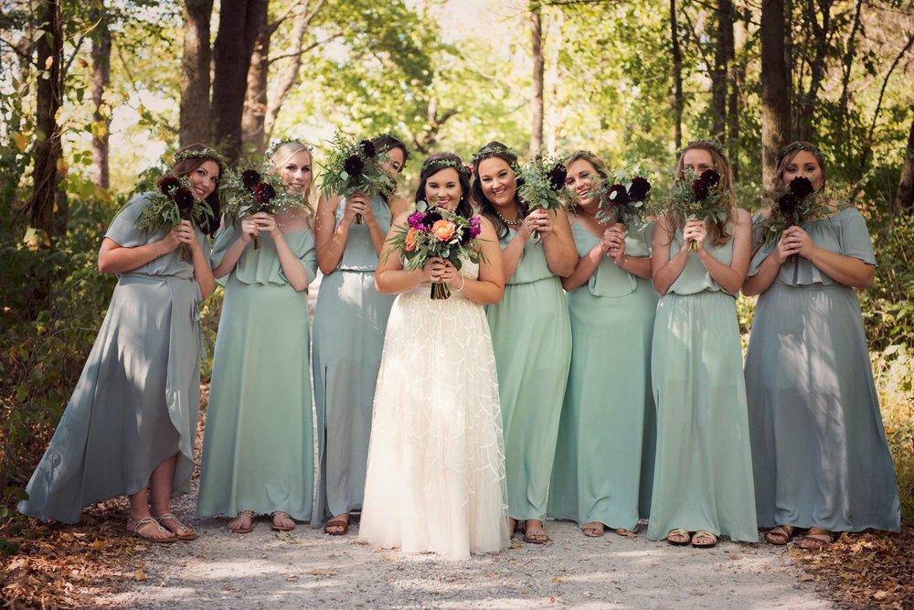 Hidden Hollow Barn Wedding Bouquets Boho Wedding.jpg