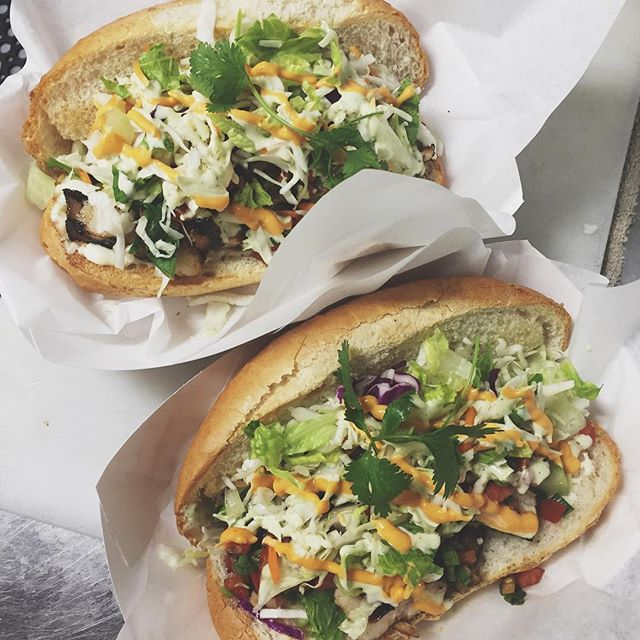 Instead of BBQ Pork Belly over rice, try it in a sandwich! Stop by and grab a BBQ Pork Belly Sandwich today!  Stockton Hours: 11am-7:30pm. Tracy Hours: 11am-9:30pm.