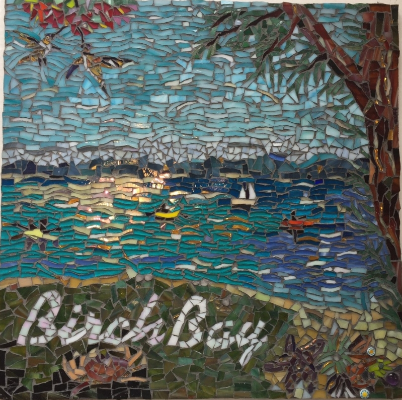 "BIRCH BAY BACKSPLASH 16"" x 16"""