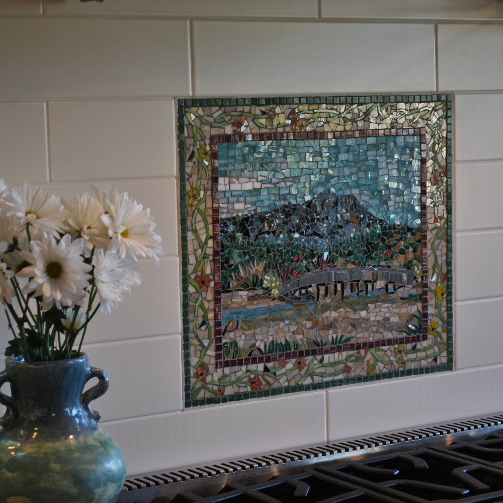 "MT. TAMALPAIS BACKSPLASH 20"" x 16"""