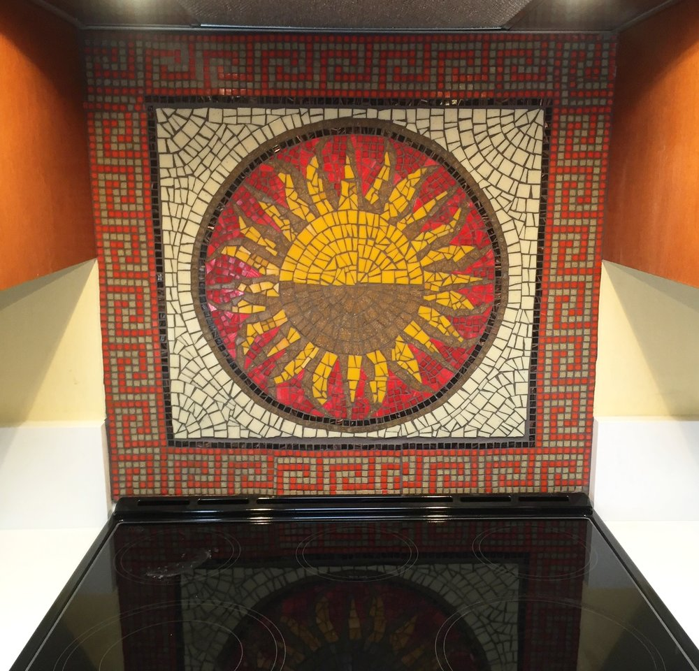 SUN BACKSPLASH