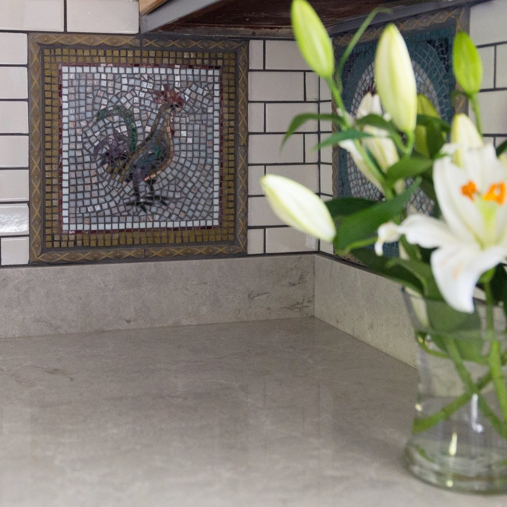 ROOSTER BACKSPLASH INSETS