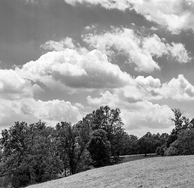 Gorgeous cloudscape that was over @greenhillwine this summer..#middleburgva #middleburgmoment #bwphoto #middleburg