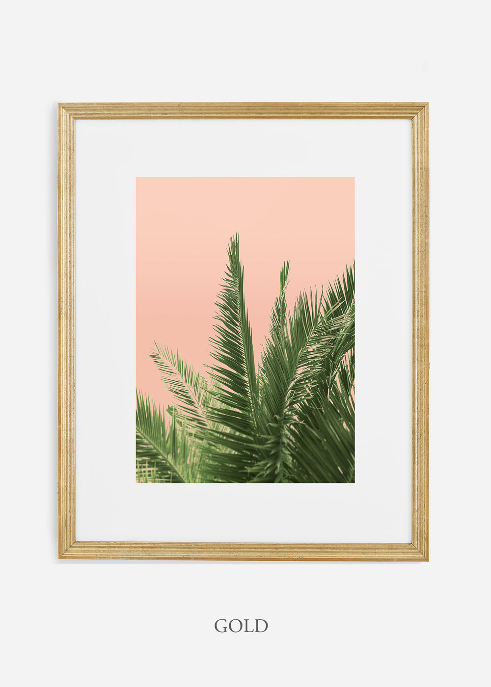 tropicaldecor_WilderCalifornia_PinkPalmTree_No.2_GoldFrame.jpg