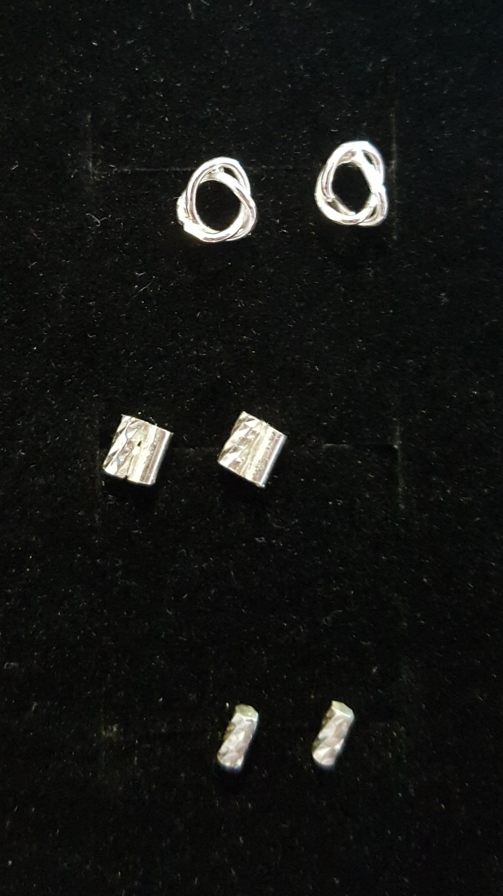 Studs, Silver £25