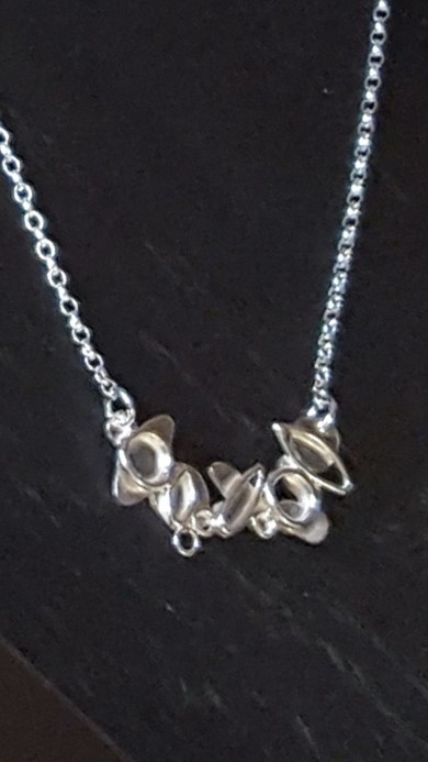 Shapes Necklace, Silver £65