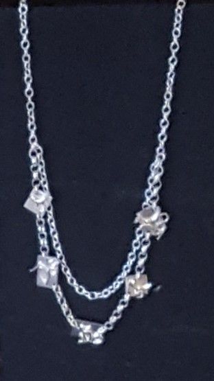 Tiles Necklace, Silver £65