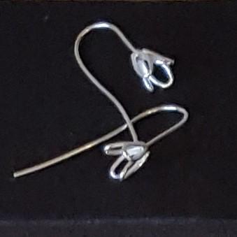Snowdrop Earrings, Silver £40