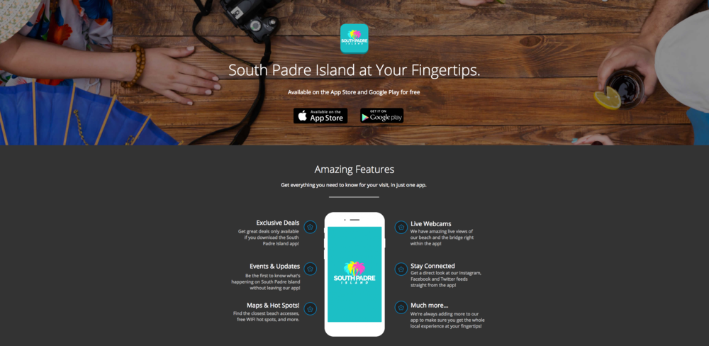 South Padre Island App