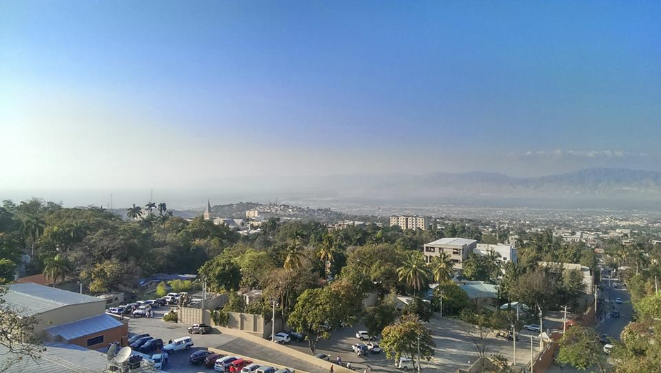 Photo of Port-au-Prince, Haiti on my trip in Spring of 2014.