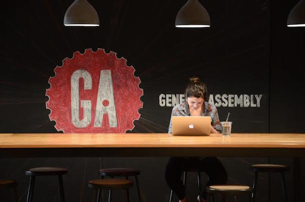 Making great things happen at General Assembly!