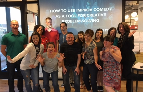 Pitch Lab Improv Comedy