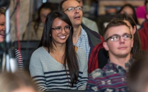 Pitch Lab Denver Startup Week laughter