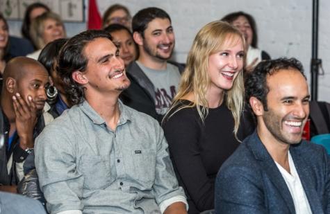 Audience Laugh Pitch Lab