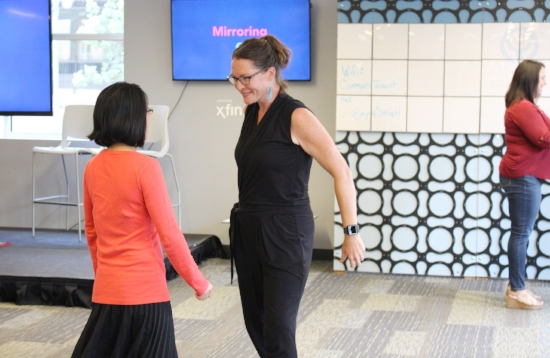 Mirroring exercises to improve communication, be present and drive empathy during interactions