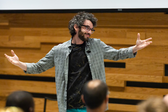 Pitch Lab Denver Startup Week Daniel Reskin