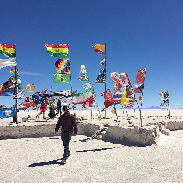 On this day, a year ago. #Uyuni #bolivia #rtw
