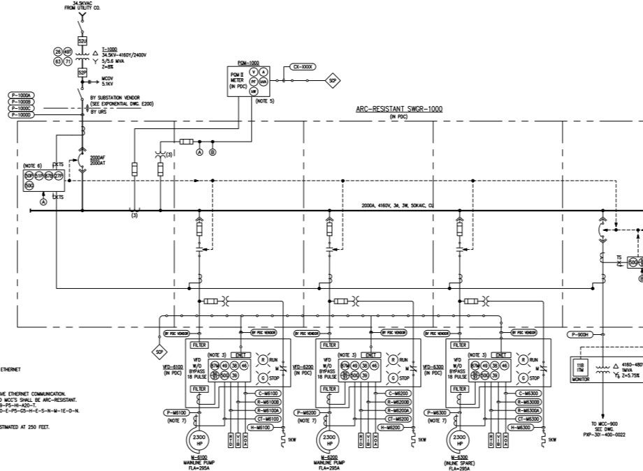 Electrical Design, Calculations and Reports — ENGINEERS LLC