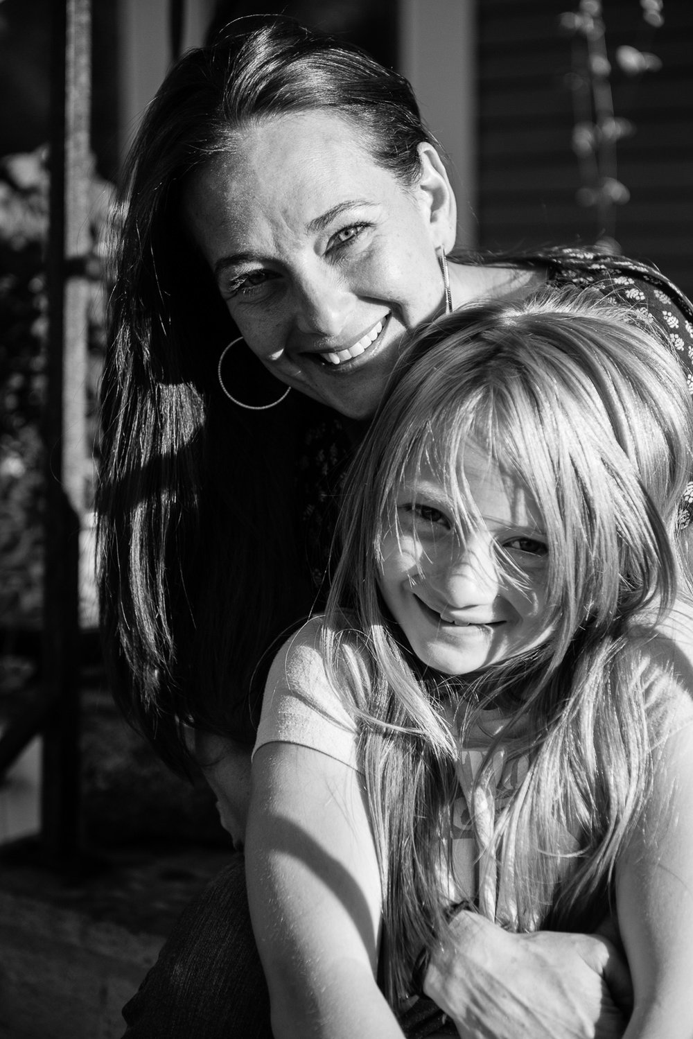 """Zoey is my miracle and saving grace,"" says Michelle about her youngest child, Zoey. ""I got an opportunity to do this different with her the whole way through and I'm committed to that. For me to think of me losing her or her not having a strong independent capable woman to show her how to do it consumes me with fear."""