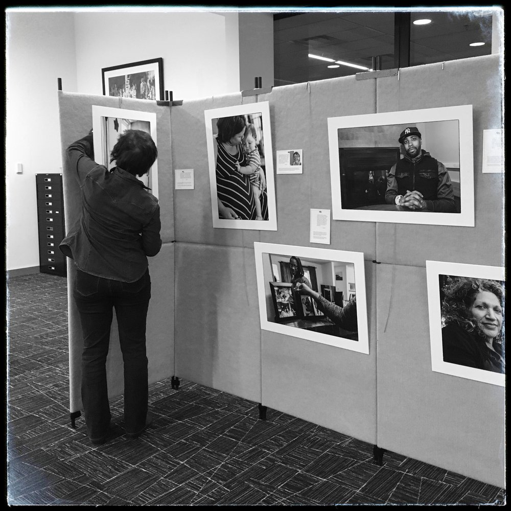 We had a small but mighty exhibit at Kent Regional Library in December 2017.