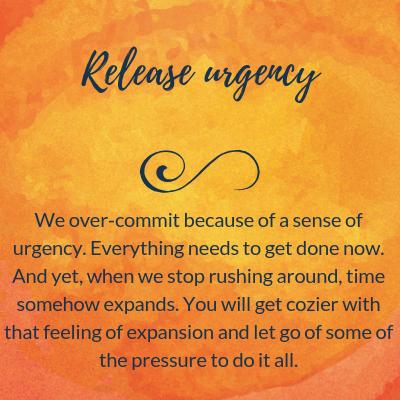 Release urgency