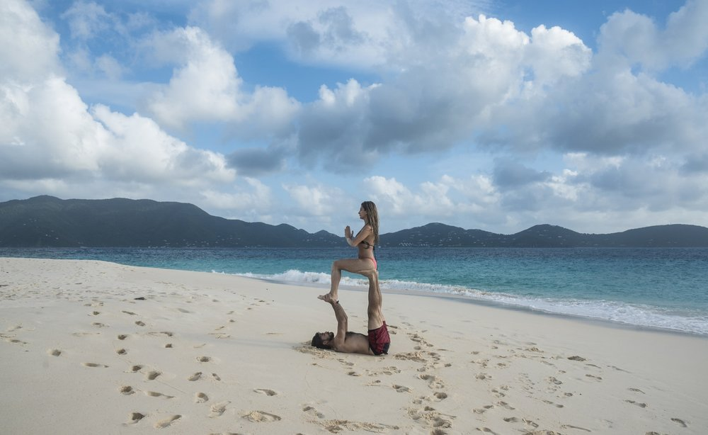 Alternate-Latitude-Virgin-Islands-Charter-Beach-Yoga