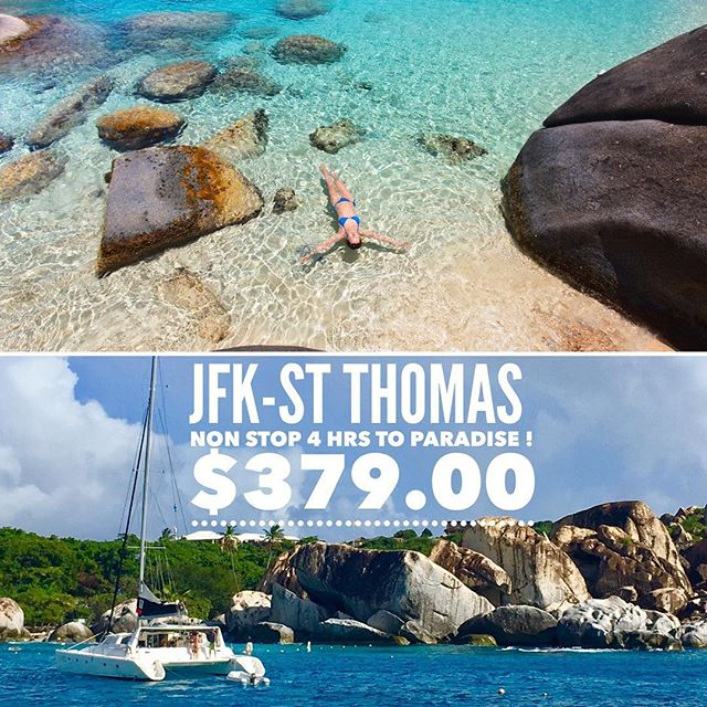 With such low airfares to St Thomas. The Virgin Islands is closer than you think