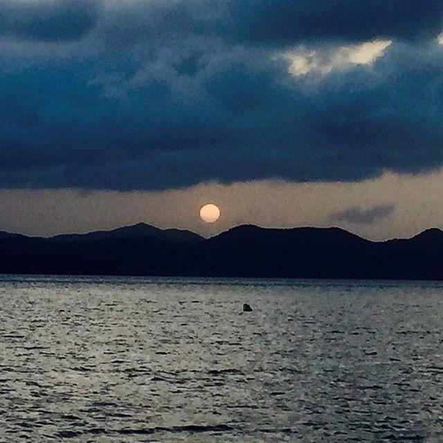 Sunset over St John #STJ #sunset #willyt