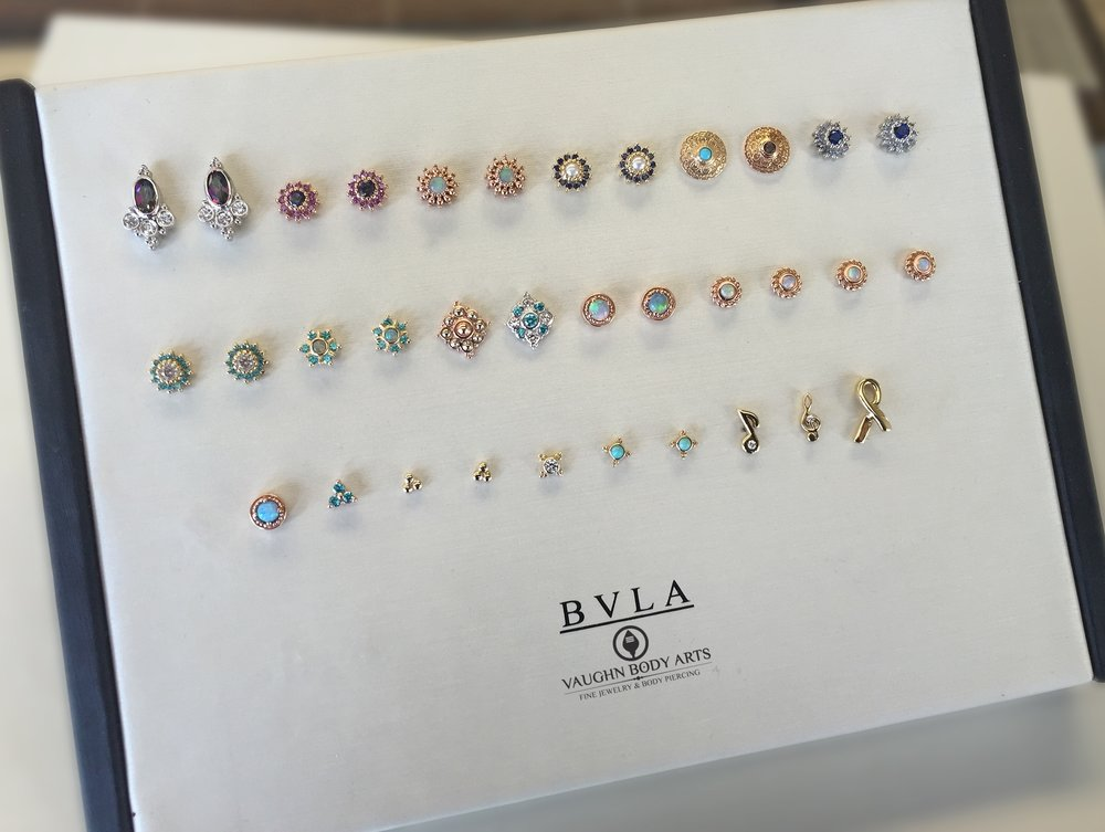 Selection of gold ends from BVLA.
