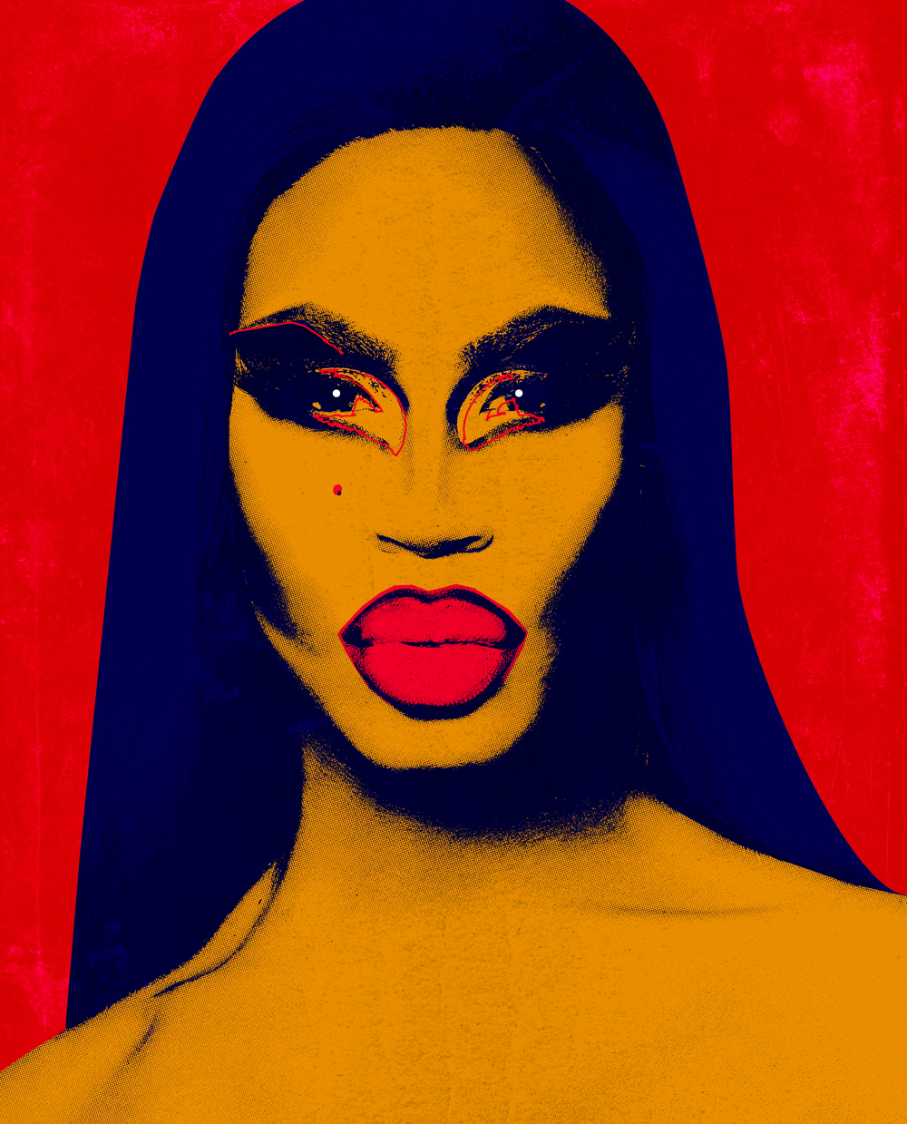 Photo-manipulation of Shea Coulee [personal project]