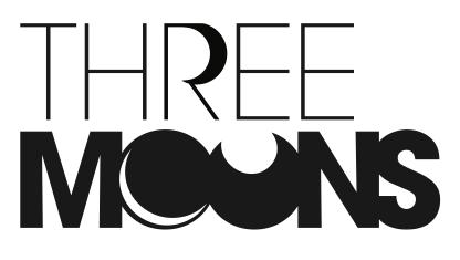 Three Moons logo