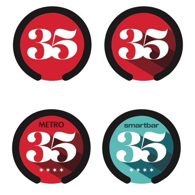 Metro/SmartBar 35th Anniversary Branding