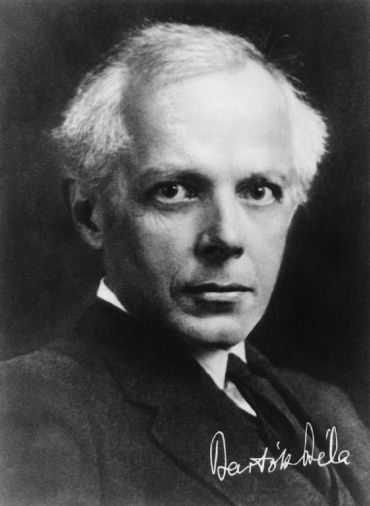 Béla Bartók , Hungarian  form  Bartók Béla , (born March 25, 1881, Nagyszentmiklós, Hungary , Austria-Hungary [now Sânnicolau Mare, Romania]—died September 26, 1945, New York , NewYork, U.S.), Hungarian composer, pianist , ethnomusicologist , and teacher, noted for the Hungarian flavour of his major musical works, which include  orchestral works, string  quartets , piano solos, several stage works, a  cantata , and a number of settings of folk songs for voice and piano  Bartók spent his childhood and youth in various provincial towns, studying the piano with his mother and later with a succession of teachers. He began to compose small  dance pieces at age nine, and two years later he played in public for the first time, including a  composition of his own in his program.  Following the lead of another eminent Hungarian composer, Ernö Dohnányi , Bartók undertook his professional studies in  Budapest , at the Royal Hungarian Academy of Music, rather than in Vienna. He developed rapidly as a pianist but less so as a composer. His discovery in 1902 of the music of  Richard Strauss stimulated his enthusiasm for composition. At the same time, a spirit of optimistic  nationalism was sweeping Hungary, inspired by Ferenc Kossuth and his Party of Independence. As other members of Bartók's generation demonstrated in the streets, the 22-year-old composer wrote a  symphonic poem , Kossuth (1903), portraying in a style reminiscent of Strauss, though with a Hungarian flavour, the life of the great patriot  Lajos Kossuth , Ferenc's father, who had led the revolution of 1848–49. Despite a scandal at the first performance, occasioned by a distortion of the Austrian  national anthem , the work was received enthusiastically.  Shortly after Bartók completed his studies in 1903, he and the Hungarian composer  Zoltán Kodály , who  collaborated with Bartók, discovered that what they had considered Hungarian  folk music and drawn upon for their  compositions was instead the music of city-dw
