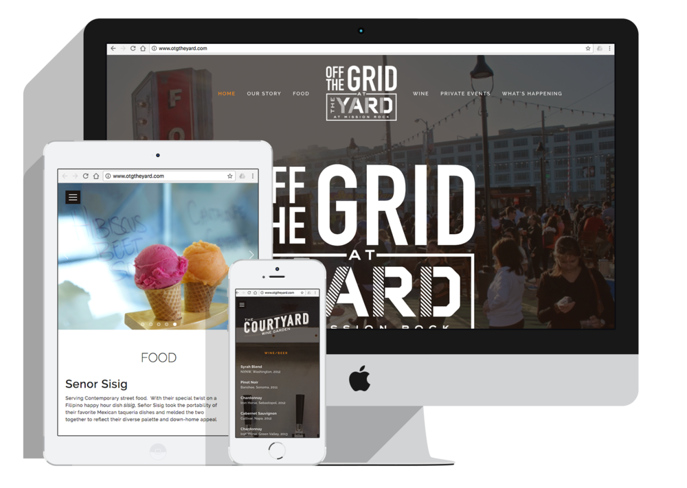 OFF THE GRID AT THE YARD