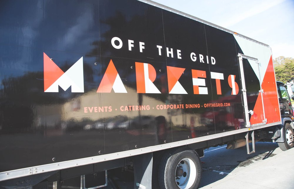 Off the Grid Markets Rebrand