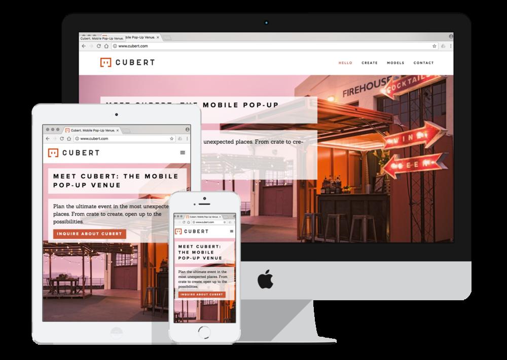 Diverge Squarespace web design