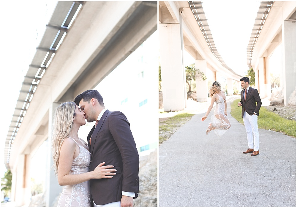 It was truly a blessing to witness their commitment toward one another. I loved how they had no shame in loving one another publicly and DANCING to their own rhythm. Yes, dancing. They totally danced in the middle of Brickell!