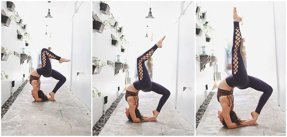 Striking yoga poses, fresh vegan food, and good company? Yes! Count me in!