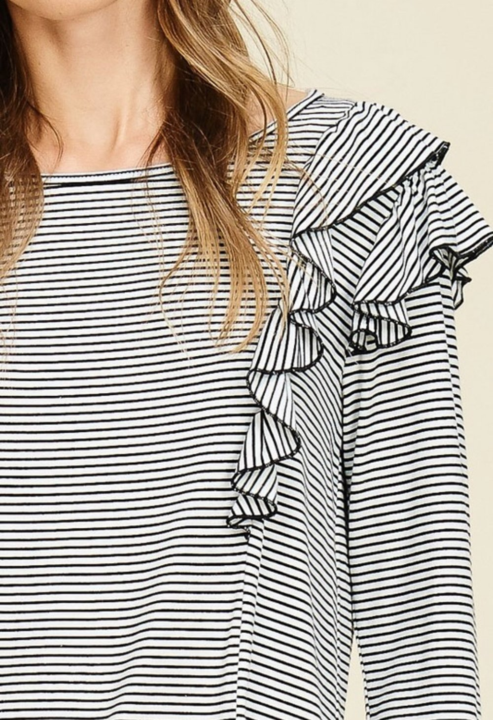 144ce8c3dd54a Stripes   Sail Long Sleeve Knit Top — Koket Boutique