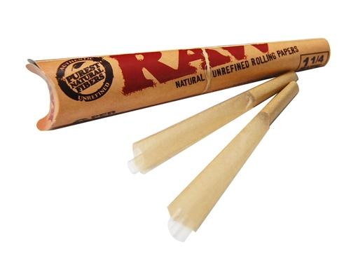 Raw Organic Cone Pre-Rolled 1-1/4 $6.00