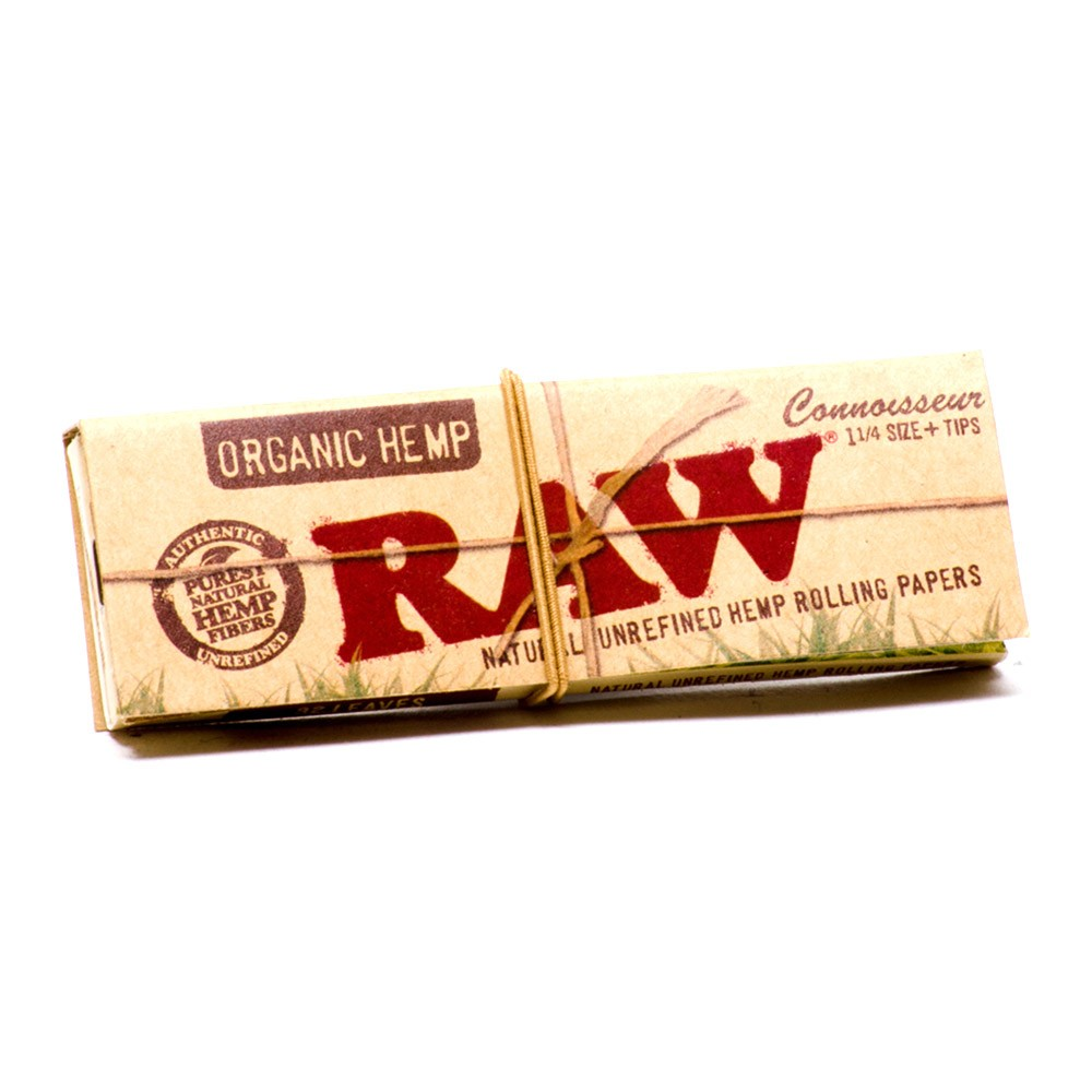 RAW Connoisseur Kingsize with Tips $5.50