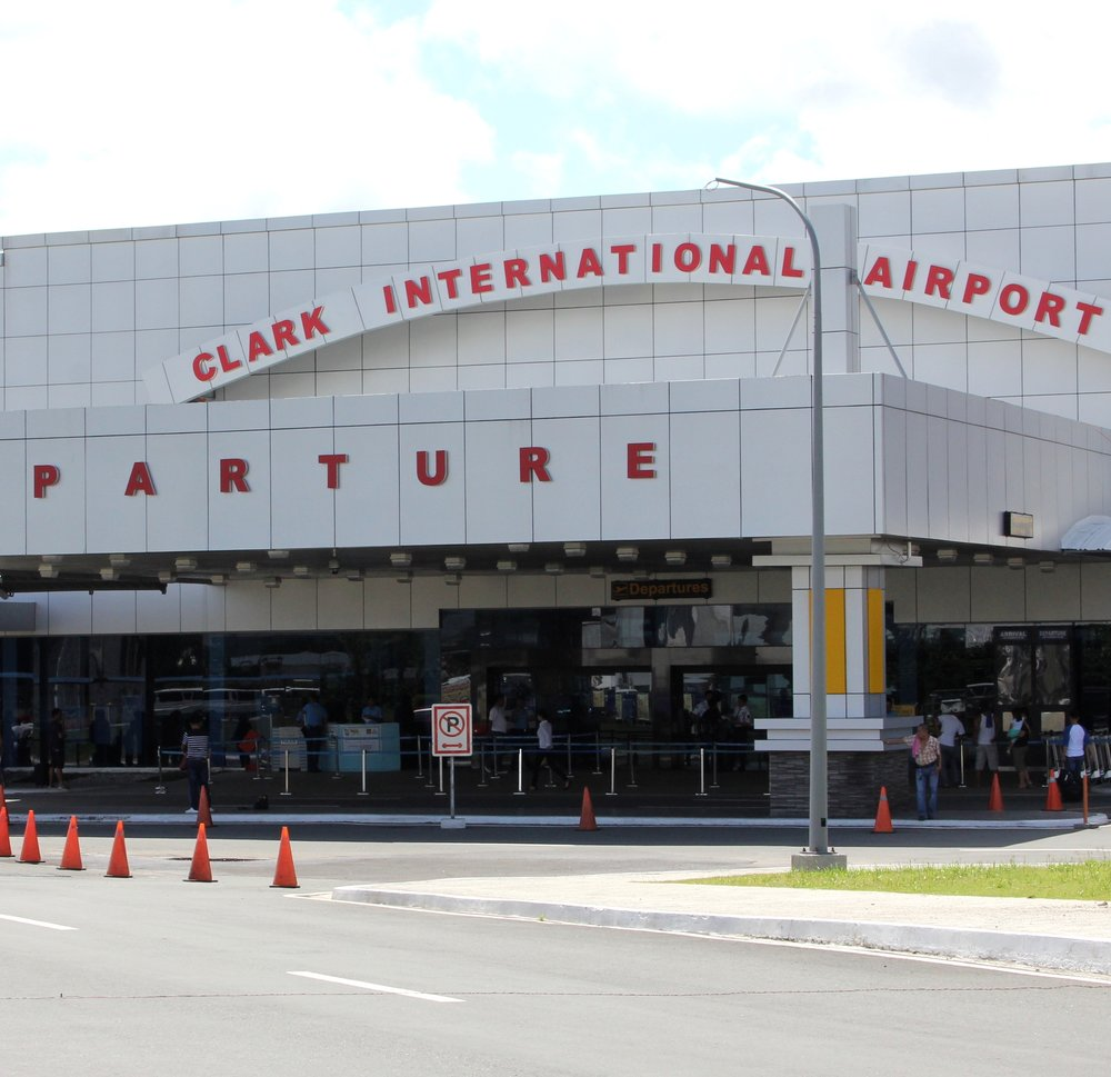 YOU CAN FLY DIRECT TO CLARK INTERNATIONAL AIRPORT, ONLY 1.5 HOURS AWAY FROM BATAAN. - CLARK INTERNATIONAL AIPORTS (PAMPANGA)NINOY AQUINO INTERNATIONAL AIRPORT (MANILA)