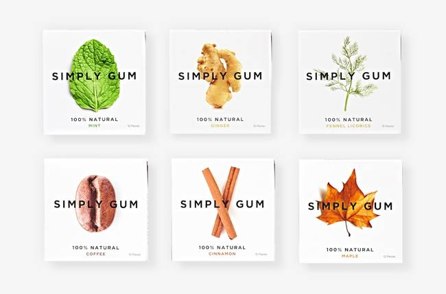 Simply Gum is homemade in NYC. -