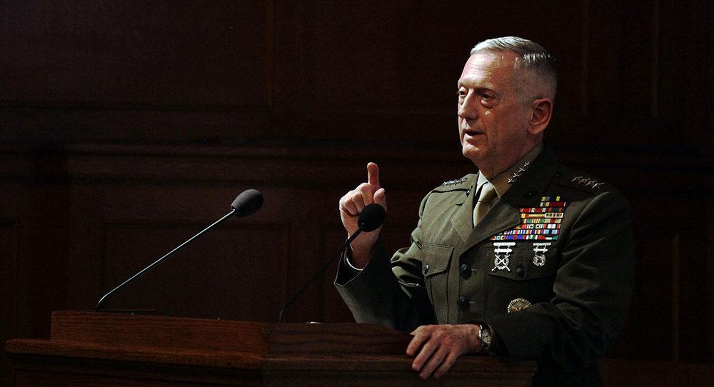 Top gun. - Defense Secretary James Mattiscalled climate change a