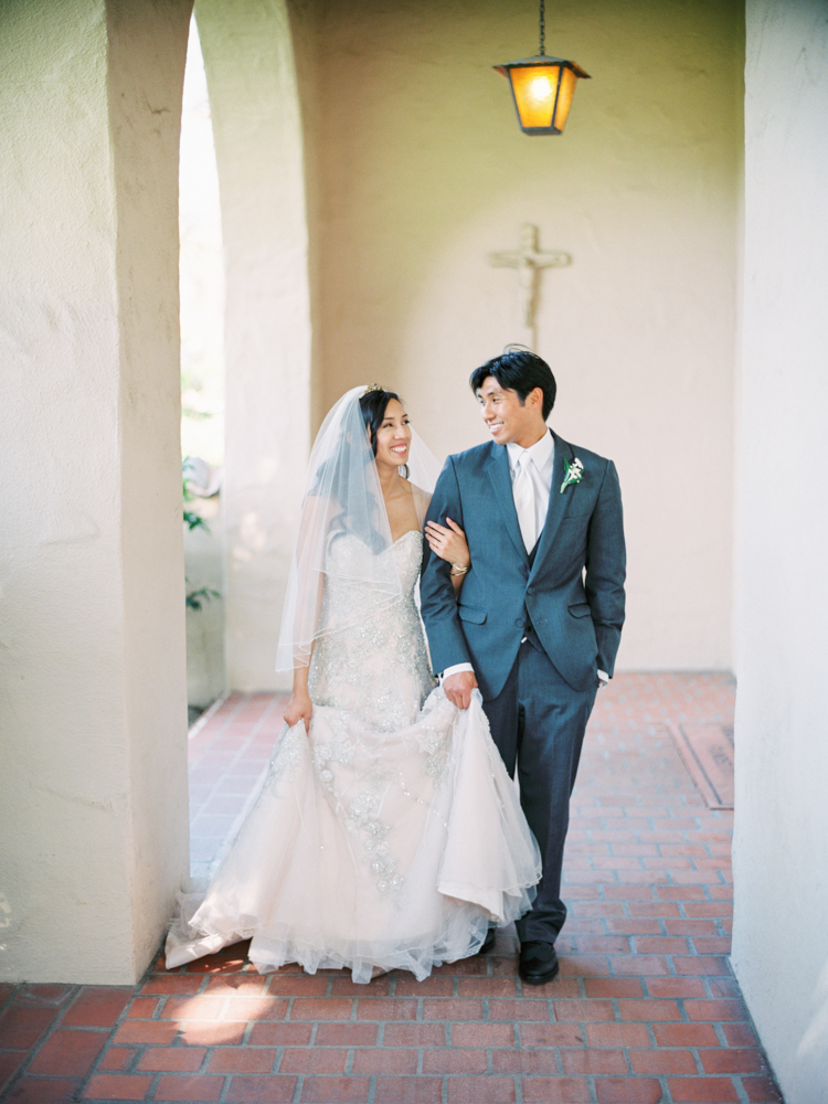 Santa clara university wedding northern california film photographer-35