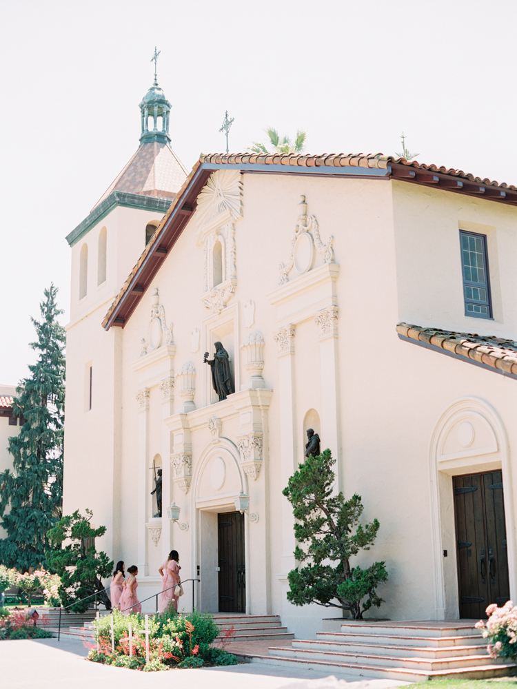Santa clara university wedding northern california film photographer-36
