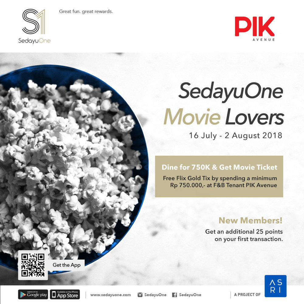 Sedayuone movie lovers PIK Avenue.jpg