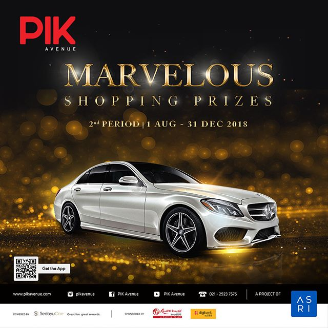 2nd chance to win these MARVELOUS PRIZES by simply spend a min of Rp. 500.000 at our tenants! Triple Coupons by spending with @digibankid Credit Cards! . More info please visit www.pikavenue.com. . #pikavenue #pikave #pikaveshop #sedayuone #shoppingprogram #resortworldsentosa #rws