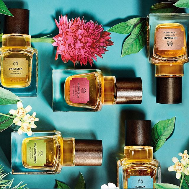 Pick your fav (or try all five) and let the scents transport you to another place and time . Available at @thebodyshopindo PIK Avenue #thebodyshopindo #pikavenue #pikave #pikaveSHOP